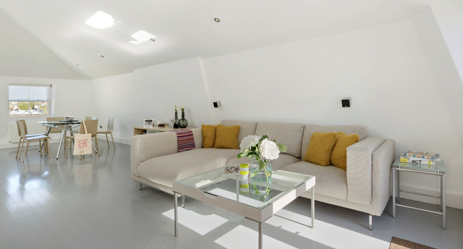 luxury aparthotel penthouse suite in London