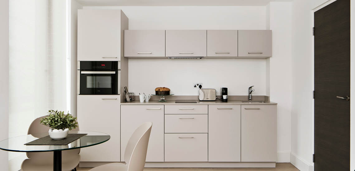 aparthotel kitchen london 2020