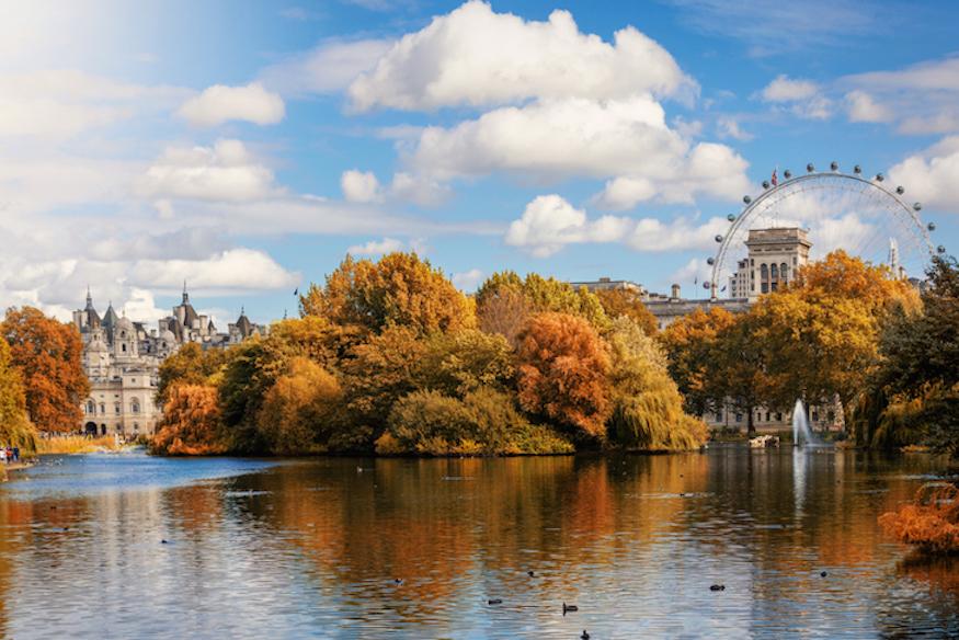 autumn city break